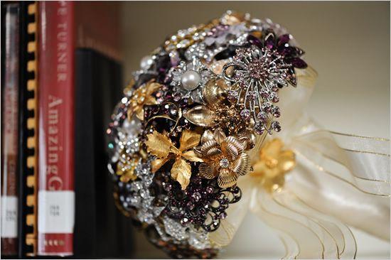Jewelry bouquet