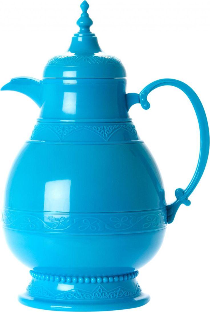 Thermoskan Fatima blauw