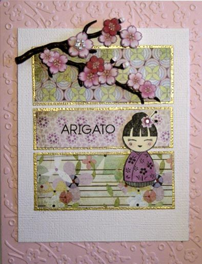 Arigato by DeeinNJ - Cards and Paper Crafts at Splitcoaststampers
