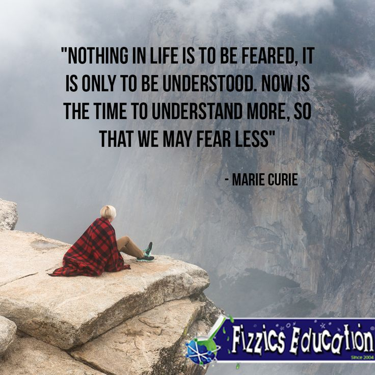 We Fear What We Don T Understand Quote: 155 Best Science And Education Quotes Images On Pinterest