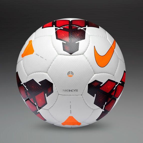 Nike Footballs - Nike Incyte Ball - Football Balls - White-Red-Total Orange #PDSmostwanted