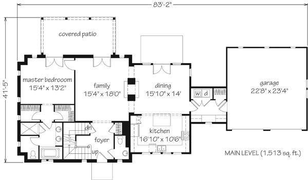457 best house plans with potential studio space images on for House plans with future additions