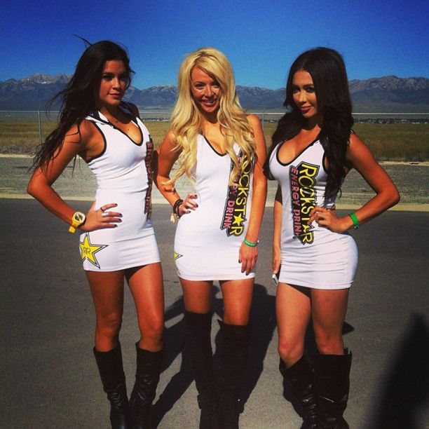 hot rockstar energy girls