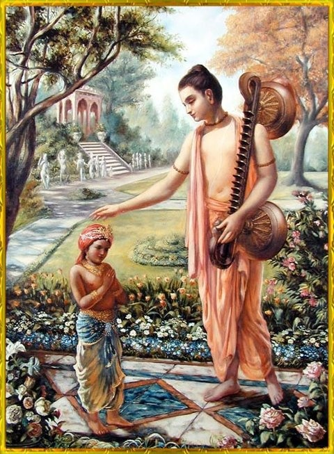 "Narada Muni instructs Dhruva Artist: Premavilasa dasa Narada Muni spoke: ""The…"