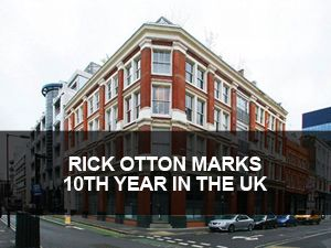 In 2013, Rick Otton is quietly celebrating 10 years since he first introduced the concept of property options to the UK property investing public. In an interview today, he says that in that time he has seen many self-proclaimed property masterminds come and go.