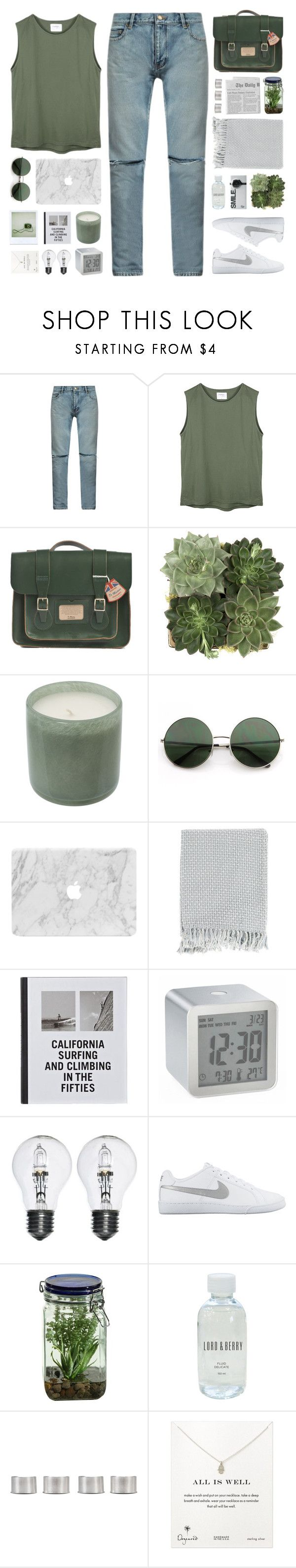 """dedicated to mae <3"" by via-m ❤ liked on Polyvore featuring Yves Saint Laurent, Dr. Martens, Jayson Home, LAFCO, Surya, Patagonia, LEXON, NIKE, Polaroid and Alöe"