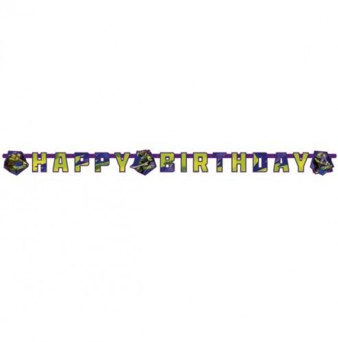 Teenage Mutant Ninja Turtles Happy Birthday letter banner  Ninja Turtles verjaardag letterslinger. Happy Birthday verjaardag slinger in de stijl van de Teenage Mutant Ninja Turtles.  EUR 5.50  Meer informatie