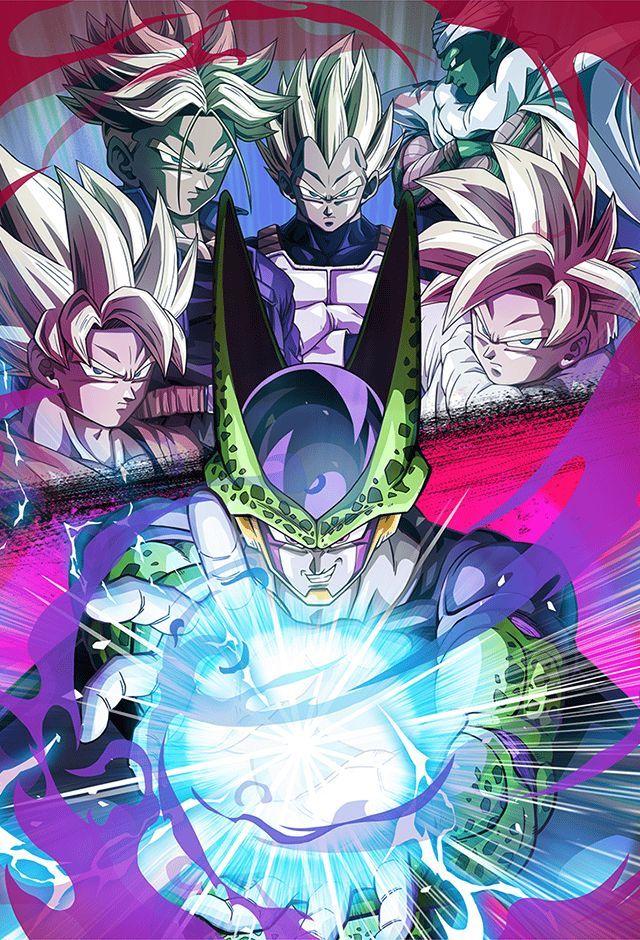 Cell Vs Z Fighters Card Bucchigiri Match By Maxiuchiha22 On Deviantart Dragon Ball Art Dragon Ball Z Dragon Ball Super