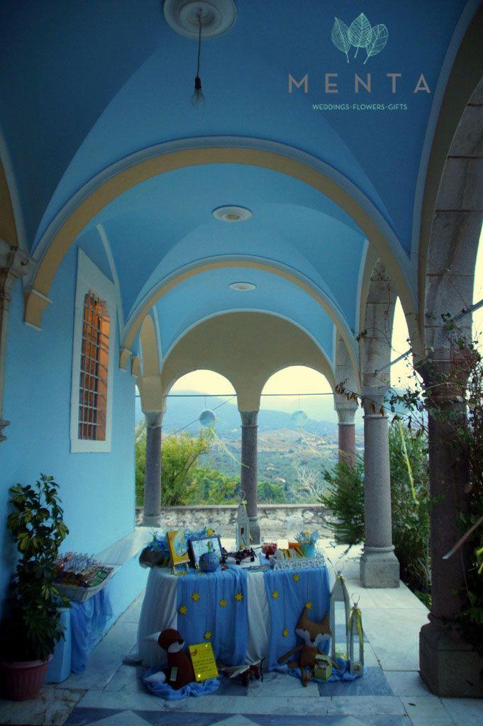 Little Prince candy bar. At the Church of Agia Kyriaki, in Molyvos, Lesvos, Greece.  https://www.facebook.com/mentaweddings
