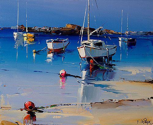 17 meilleures id es propos de peinture marine sur pinterest murs bleu marine peintures bleu - Cote d un artiste peintre ...