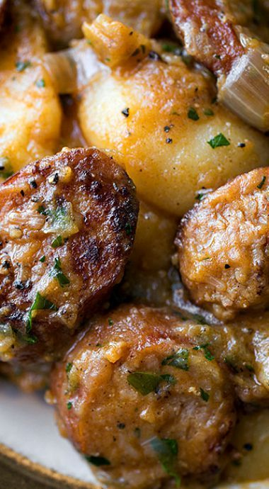 The 25 best czech beef goulash recipe ideas on pinterest saucy hungarian red potato goulash with smoked sausage and savory caramelized onions forumfinder Gallery