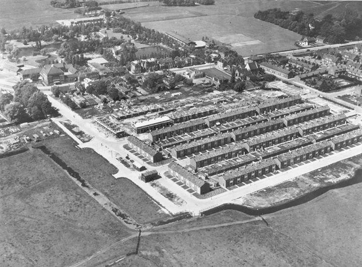 Oud Voorschoten luchtfoto