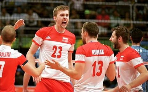 #o #my #God #goPoland ⚪ #so #proud #volleyball 3:0 #with #Argentina  #bieniek #kubiak #congratulations  #love #it  #great #match #rio2016 #power #Poland  #brawo #Polska