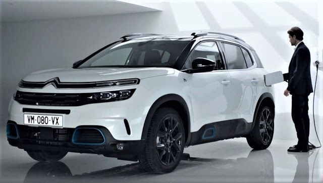 The Citroen C5 Aircross Is Presented For The First Time In A Plug