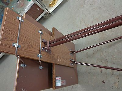Vintage Sirco Collapsable Folding Sewing Typing Table Desk