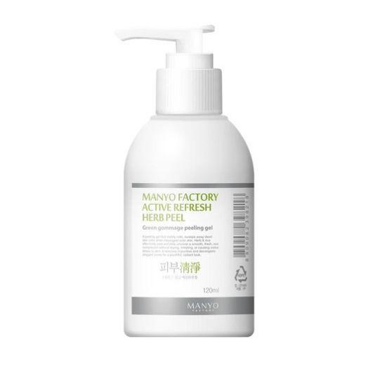New Manyo Factory Active Refresh Herb Peel Green Gommage Peeling Gel 120ml #ManyoFactory