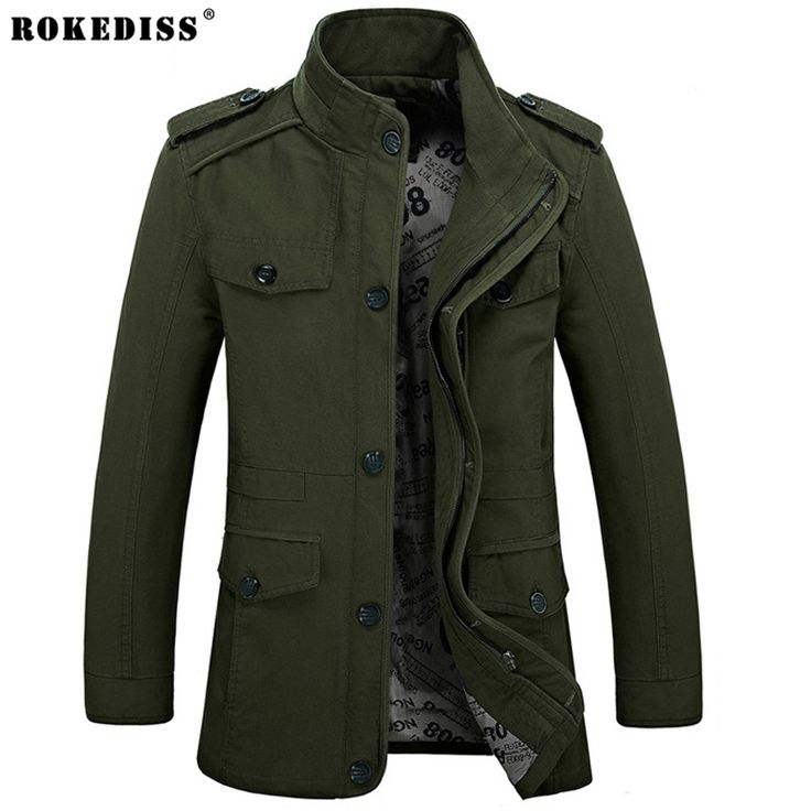 Large size Military Style Jackets For Men Army Military Jacket chaqueta militar Mens Jackets And Coats jaqueta masculina bape