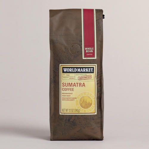 One of my favorite discoveries at WorldMarket.com: 12-oz. World Market® Sumatra Coffee, Set of 6