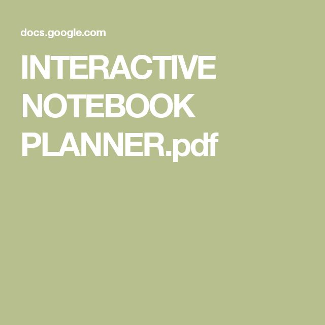 442 best education spanish images on pinterest learning interactive notebook plannerpdf fandeluxe Image collections