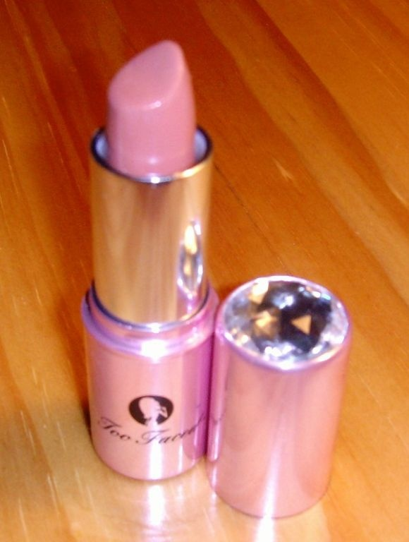 Too Faced Lip of Luxury-Totally Nude (good for tan skin)