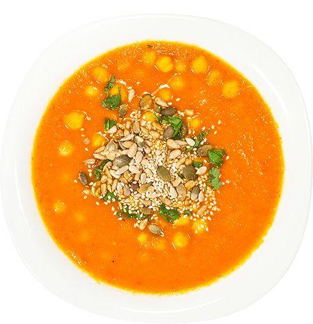 Суп с нутом и овощами