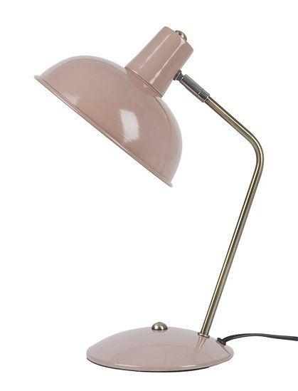 Luxury Die Tischleuchte Hood im Retro Stil reflektiert viel Licht durch ihren gro en Lampenschirm In drei Farben bei car Moebel de