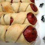 Recetas de niños para Halloween: Momias terroríficas