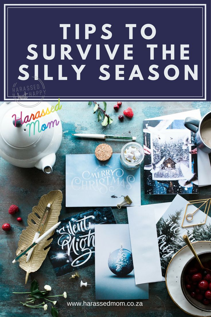 The silly season is upon us! We are all running around trying to make the season as special as we can for our loved ones! Find out how to survive with your sanity! #Christmas #harassedmom #happiness #thanksgivingclapback