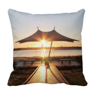 Beach Morning Sunrise Pillows