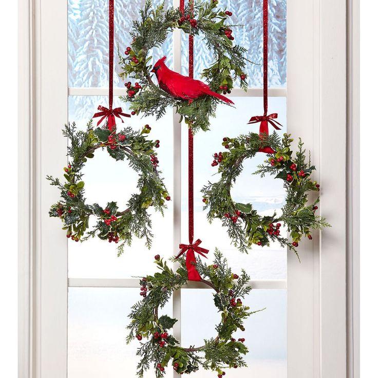 die besten 25 weihnachtsdeko f r gro e fenster ideen auf pinterest fenstergr en gro e. Black Bedroom Furniture Sets. Home Design Ideas