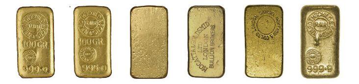 Varianten Rothschild Goldbarren