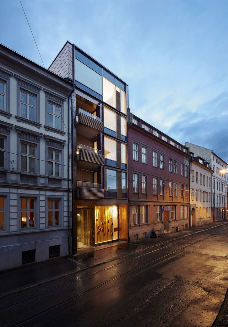 Glass Infill Photo Gallery: Infill Parkveien, Oslo. Architects: KIMA Arkitektur As / Infill AS.