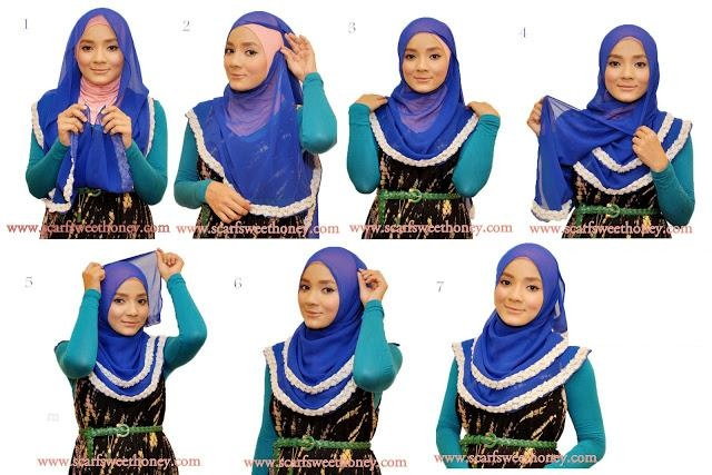Tesettür Blog: Şal bağlama Taktikleri ( resimli anlatım)- Tesettür giyimde şal bağlama örnekleri