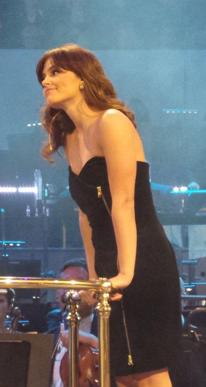 Jenna Coleman at the DW Proms.