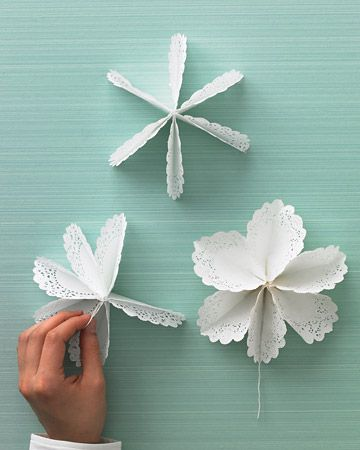 Diy Doily Paper Christmas Tree Tutorial With Video | The WHOot