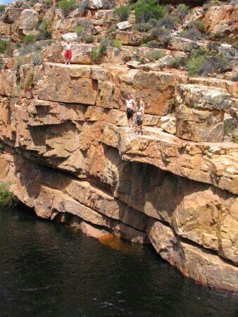 Cedarberg Wilderness Area Water jumps