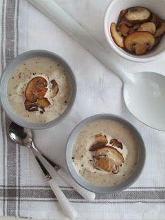 Knolselderij-champignonsoep-Celery and mushroom soup x @sunfaery