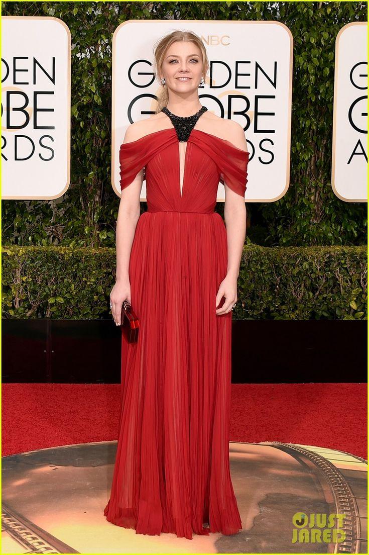 Natalie Dormer in a J.Mendel dress.
