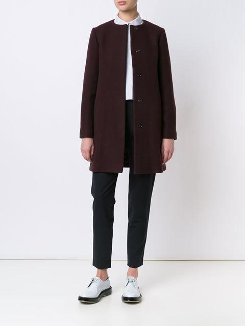 A.P.C. однобортное пальто