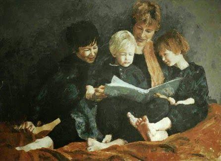 pintura de Annabel Mednick