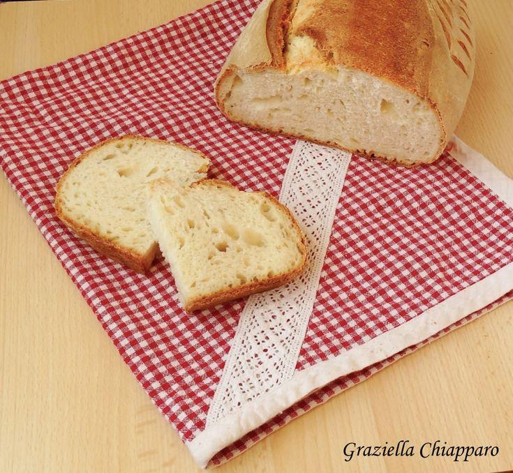 Pane+con+farina+di+semola+rimacinata+di+grano+duro+ +Ricetta
