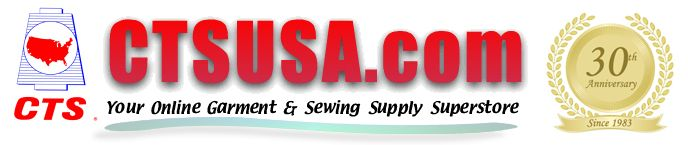 CTS USA Wholesale Sewing Supplies, Sewing Thread, Embroidery, Elastic & etc