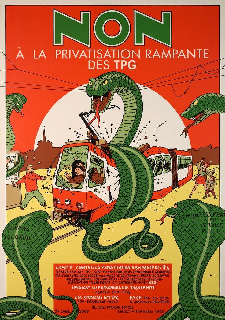Non à la privatisation des TPG (2005)