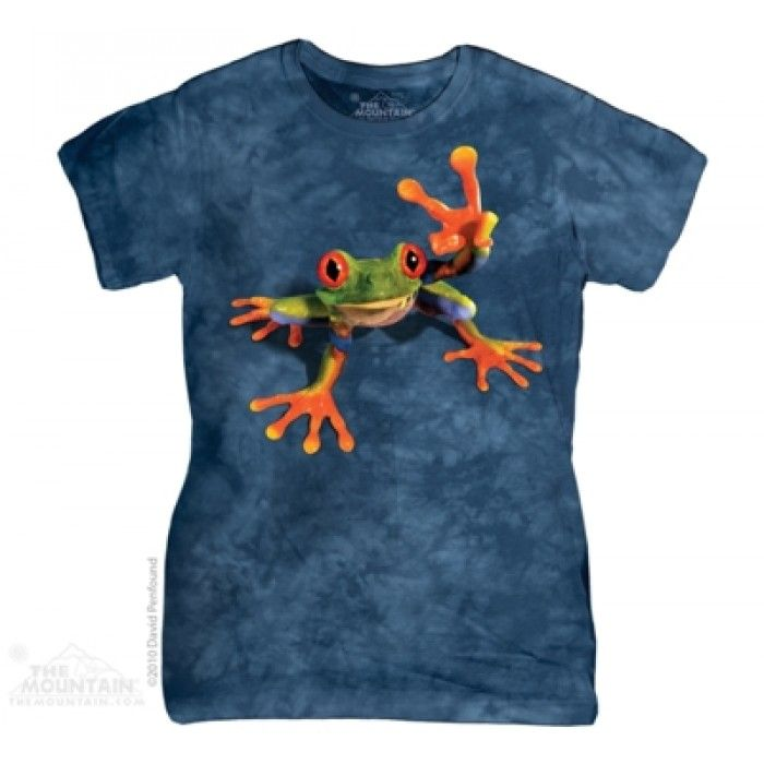 Tricouri dama 3D – Tricou Victory Frog Dama