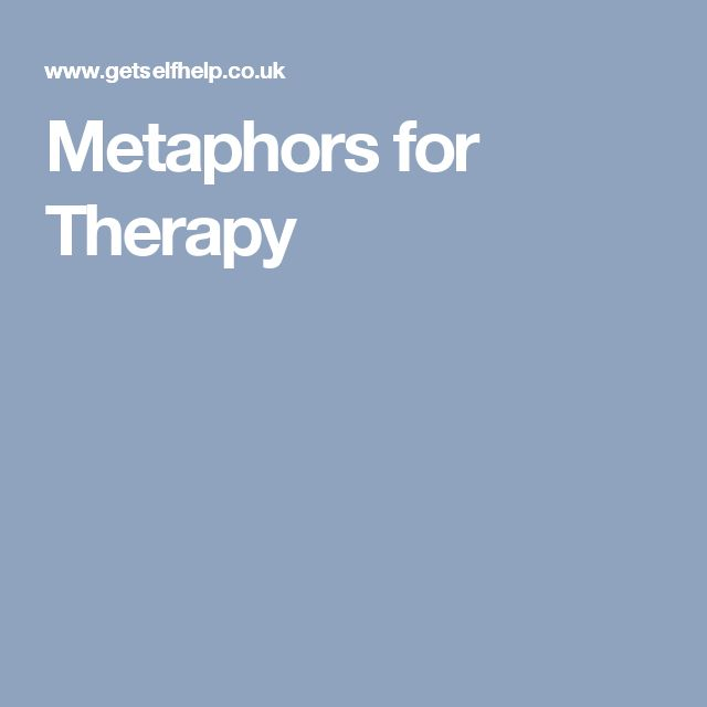 Metaphors for Therapy