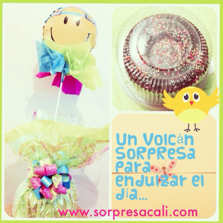 SoRpReSa Volcán de chocolate, lista para disfrutar...  #sorpresacali #domicilioscali #love #sorpresadulce #sorpresa  #chocolate  Pedidos:  (318) 385-1187 - (317) 636-3792 www.sorpresacali.com