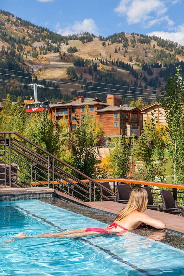 """#ECOHOTELS #SWD #GREEN2STAY Hotel Terra Jackson Hole  Save up to 25% off your stay this June and July at Hotel Terra. Combine a seemingly endless list of Jackson Hole adventures with early-summer savings for a mountain getaway to the """"Last of the Old West"""". http://www.green2stay.com/usa-eco-hotels"""