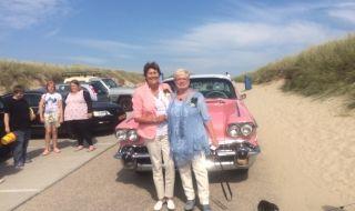 #Huwelijk #Roze #Cadillac #Julianadorp
