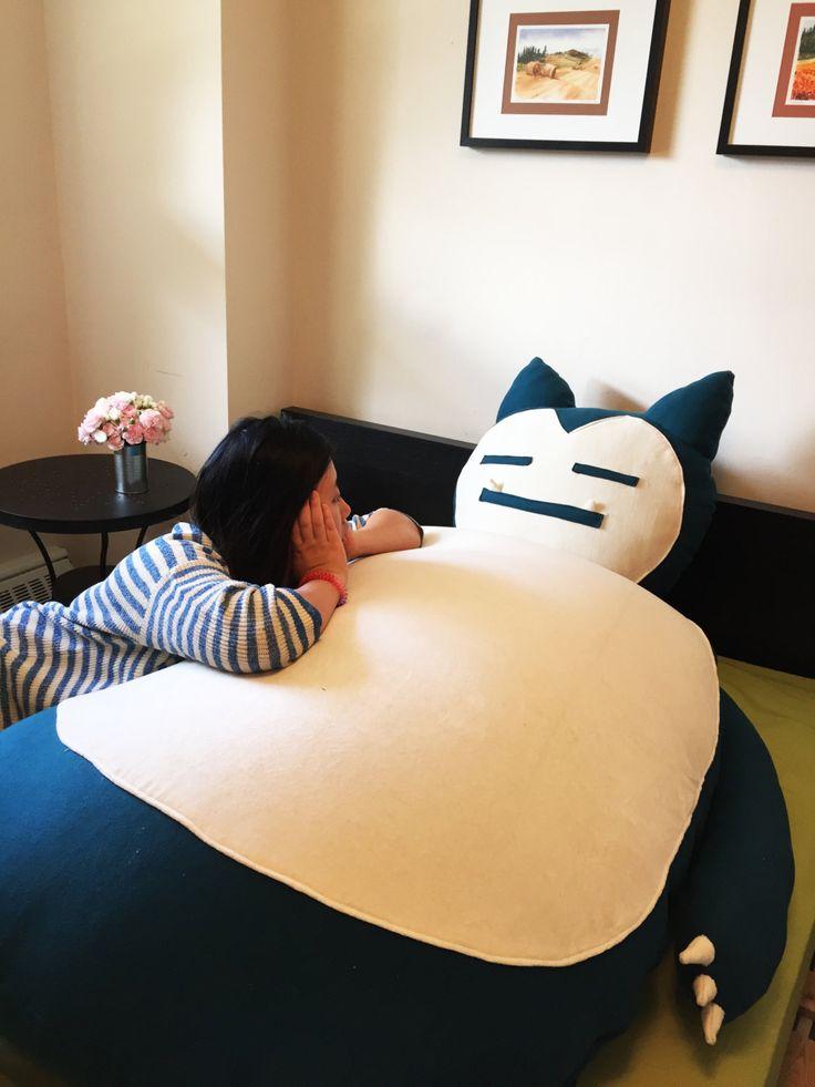 Giant snorlax bean bag pokemon merchandise pokemon