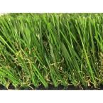 Greenline Supreme 2.5-90 Spring Artificial Grass Synthetic Lawn Turf Outdoor Landscape 7.5 ft. x Custom Length